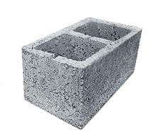 Двухпустотный стеновой керамзитобетонный блок Ижевск Ижкомстрой