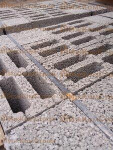 Четырехпустотный стеновой керамзитобетонный блок Ижевск ИжКомСтрой